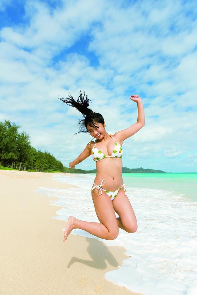 Vóc dáng dàn sao Nhật Bản khi diện bikini