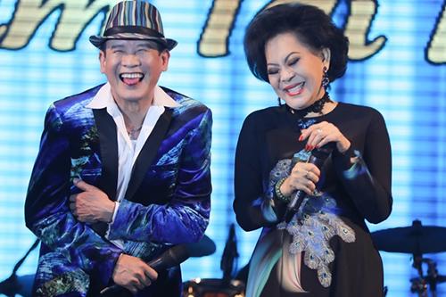 Ca sĩ Tuấn Vũ và Giao Linh.