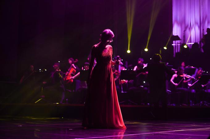 Vũ Thành An hát cùng học trò trong đêm tình ca