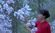 'Tiên nữ' Tứ Xuyên làm bánh, pha trà từ hoa xuân