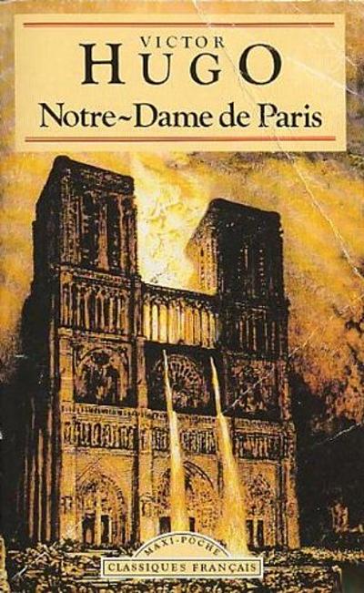 Một trong những ấn bản cổ của tiểu thuyết Nhà thờ Đức Bà Paris (Notre-dame de Paris).