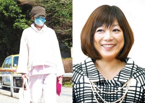 Chiemi Hori xuất hiện sau ca phẫu thuật ung thư lưỡi hồi tháng 2.