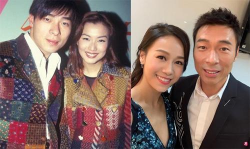Hứa Chí An bên Trịnh Tú Văn (trái) và Hoàng Tâm Dĩnh.