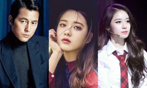 Từ trái qua: Jung Woo Sung, Go Ara và Park Ji Yeon.