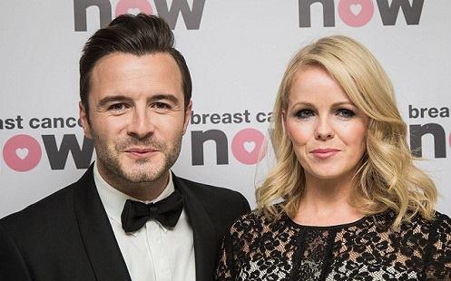 Shane Filan và vợ Gillian Walsh.