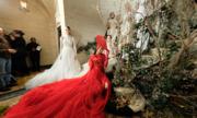 Bộ sưu tập đầm cưới của NTK Việt Nam xuất hiện trên báo Mỹ