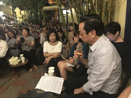 NSND Hoàng Dũng đọc bức thư Lưu Quang Vũ gửi vợ Xuân Quỳnh.