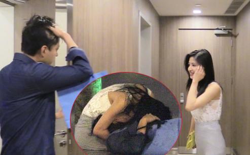 Lâm Thiên Dư lộ ảnh, video tình ái cùng một chàng trai giàu có.