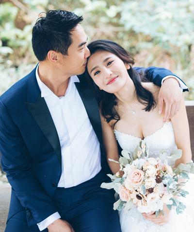 Ảnh cưới của Lâm Thiên Dư.