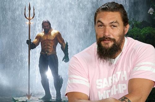 Jason Momoa nổi tiếng với vai siêu anh hùng Aquaman. Ảnh: PageSix.