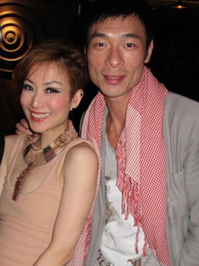 Vợ chồng Trịnh Tú Văn, Hứa Chí An. Họ hẹn hò năm 1991, kết hôn năm 2014.