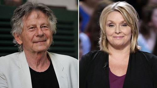 Polanski (trái) và nạn nhân Samantha Geimer (ở tuổi trưởng thành).