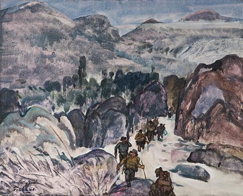 Hơn 200 tác phẩm nghệ thuật trưng bày tại triển lãm Ký ức Đường Trường Sơn - 1