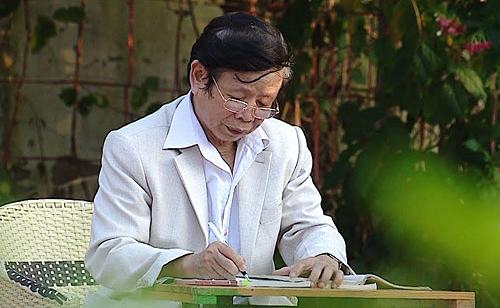 Nhà thơ Nguyễn Phan Hách khi còn sống.