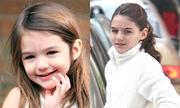 Nhan sắc con gái Tom Cruise qua 13 năm