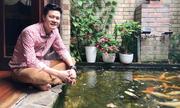 Biệt thự 400 m2 của Quang Dũng