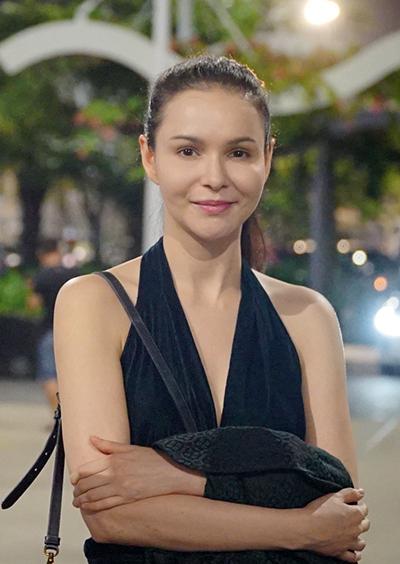 Người mẫu Jessica Amornkuldilok.