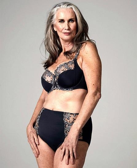 Người mẫu tuổi 59 có biệt danh Glam Mum. Ảnh: CasterNews.