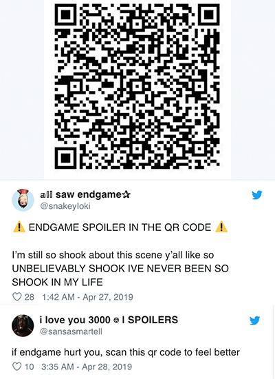 Khán giả sáng tạo cách bàn luận phim. Ảnh: Twitter.