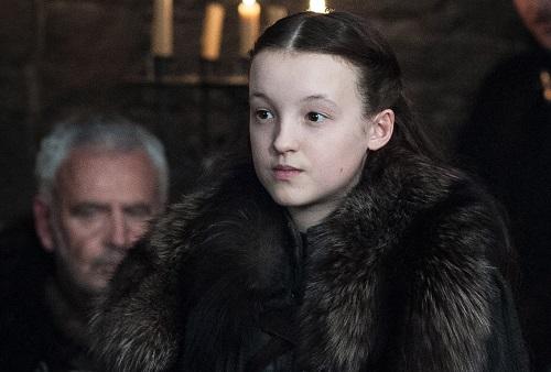 Lyanna Mormont là nhân vật được yêu thích nhờ sự dũng cảm, quả quyết dù tuổi nhỏ.