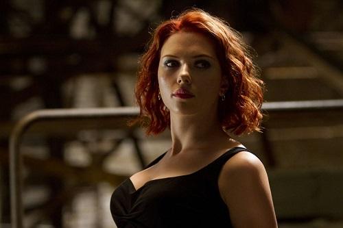 Nữ diễn viên trong The Avengers (2012).