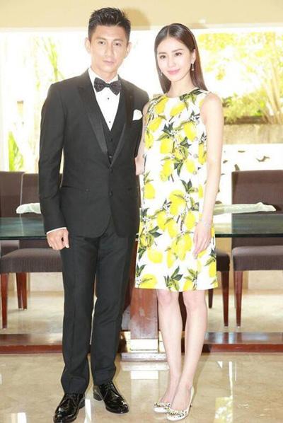 Vợ chồng Lưu Thi Thi.