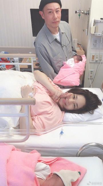 Sola Aoi đăng ảnh bên chồng và hai con.