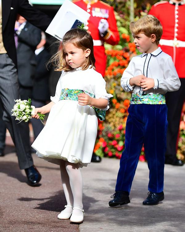 Tủ đồ bình dân của công chúa Anh Charlotte