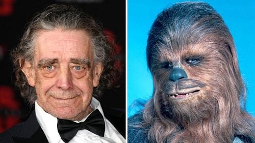 Peter Mayhew nổi tiếng nhờ vai diễn Chewbacca trong loạt phim Star Wars. Ảnh: Photofest.