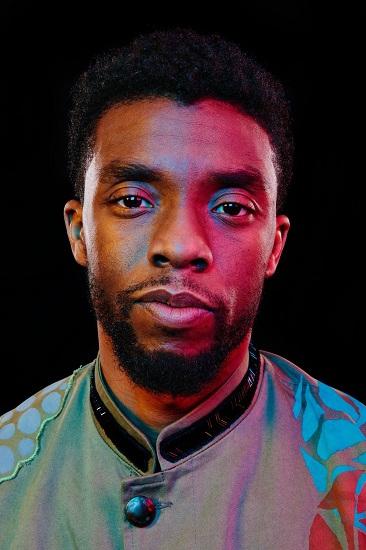 Diễn viên Chadwick Boseman. Ảnh: New York Times.