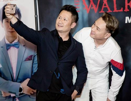 Ca sĩ sinh năm 1973 thân thiết với Hàn Thái Tú.