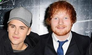 Ed Sheeran và Justin Bieber hợp tác viết ca khúc tặng vợ