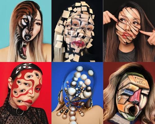 Một số tác phẩm của Mimi Choi.