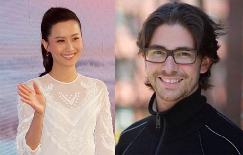 Pháp Lai và chồng sắp cưới.