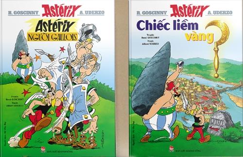 Hai tập đầu tiên của truyện tranh về Astérix được ra mắt tại Việt Nam.