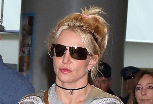 Britney Spears tham gia phiên tòa ngày 10/5 tại Los Angeles (Mỹ). Ảnh: Rex.