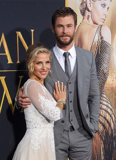 Thần sấm Chris Hemsworth và cuộc tình với vợ kém bảy tuổi - 1