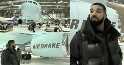 Mới đây, Drake, rapper người Canada, chi 185 triệu USD (theo tạp chí Airways) để sắm chiếc Boeing 767, mẫu máy bay khoang rộng hai động cơ đầu tiên của Boeing. Anh đặt tên cho máy bay là Drake Air. Thân máy bay được sơn màu xanh ngọc. Đuôi máy được sơn biểu tượng đôi bàn tay của anh. Hình ảnh con cú, biểu tượng của hãng đĩa OVO do Drake sở hữu xuất hiện gần cửa lên xuống.