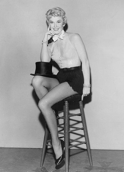 Doris Day thời trẻ. Ảnh: Pinterest.