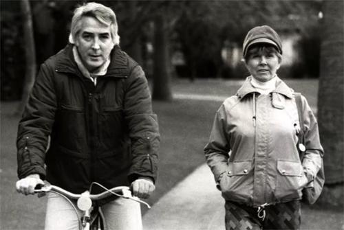 Doris Day và Barry Comden. Ảnh: Express UK.