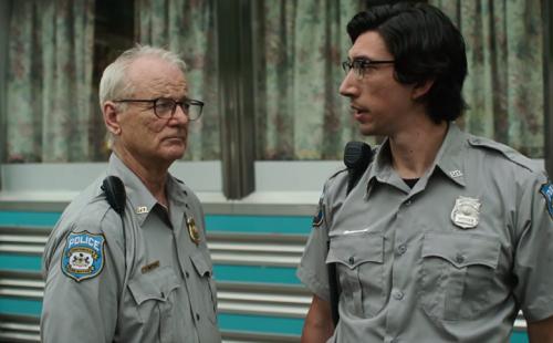 Diễn viên Bill Murray (trái) và Adam Driver trong phim.