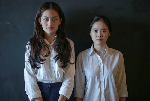 Thúy Anh (trái) diễn viên chính Đập cánh giữa không trung tiếp tục đồng hành cùng Nguyễn Hoàng Điệp trong dự án mới.