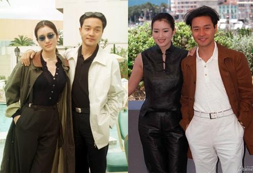 Nữ diễn viên không thay đổi kiểu tóc sau nhiều năm dự LHP. Năm 1996, cô sánh vai Trương Quốc Vinh quảng bá phim