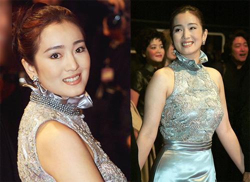 Nữ diễn viên tôn eo thon trên thảm đỏ năm 1999. Cô tham gia với tư cách diễn viên chính củaThe Emperor And The Assassin (đạo diễn Trần Khải Ca) - tác phẩm được đề cử Cành Cọ Vàng.