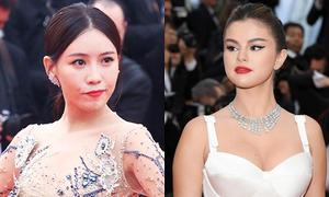 Cannes ngày đầu: Selena khoe ngực, diễn viên Trung Quốc bị chê làm lố