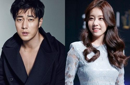 So Ji Sub và Jo Eun Jung.
