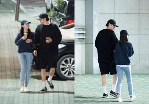 Cảnh hẹn hò của So Ji Sub và bạn gái.