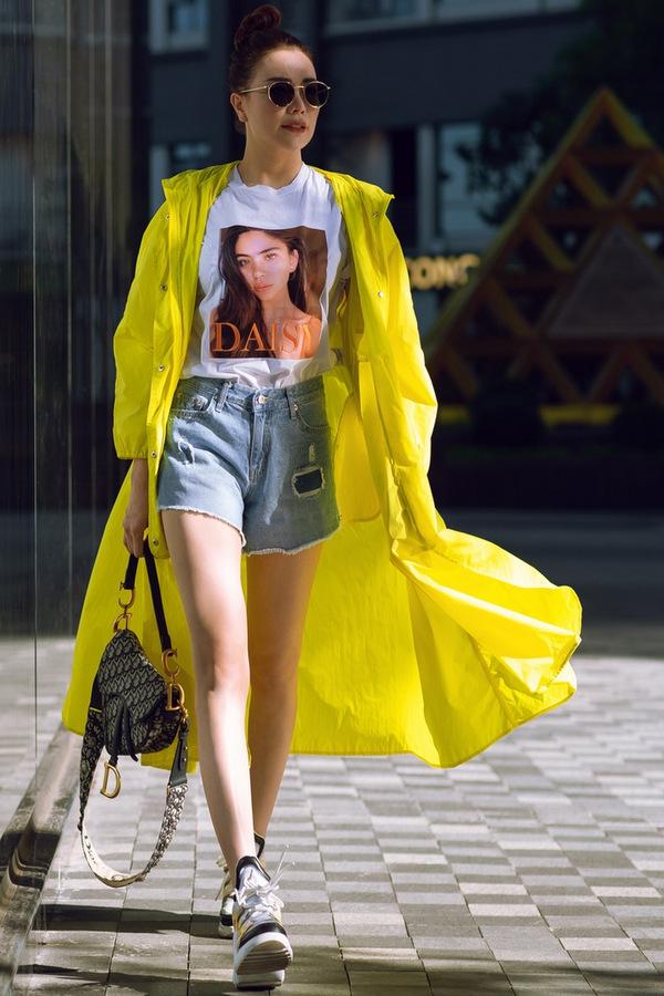Trà Ngọc Hằng gợi ý phong cách xuống phố mùa hè