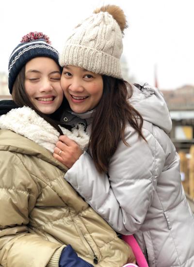 Con gái lai Tây gần 13 tuổi của diễn viên Người đàn bà yêu đuối - 10