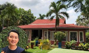 Nhà vườn 3.000 m2 của Nguyễn Phi Hùng